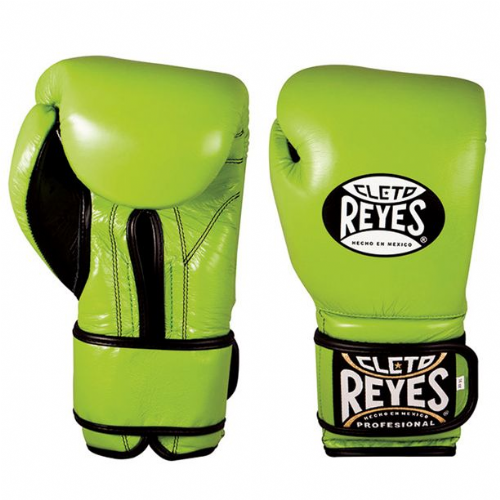 Cleto Reyes Wrap Around Sparring Gloves - Green